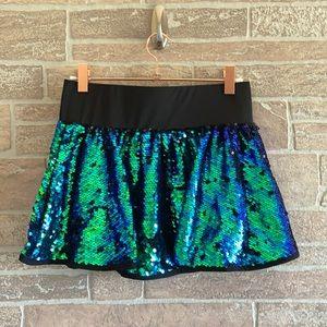 Shimmering Tide Sequin Skirt